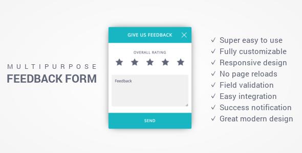 Download Free Feedback Form - Responsive Multi-Purpose Ajax ...