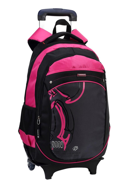 Hot Cartoon Boys Trolley backpack Girls School Bag Classic