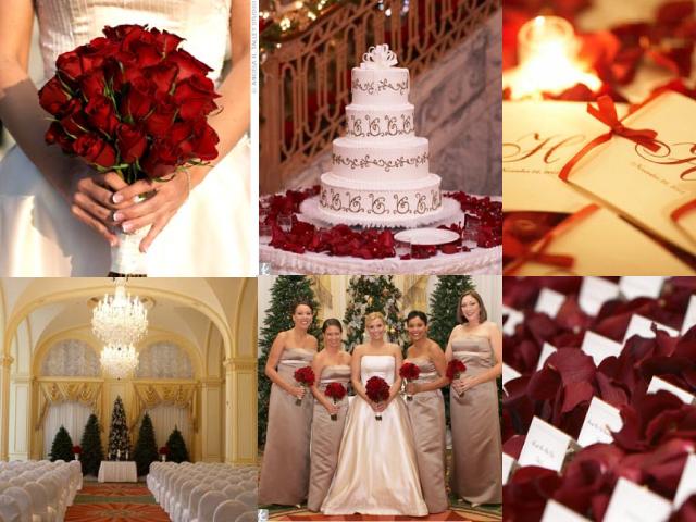 Christmas Wedding Decorations | Christmas Wedding Theme Favors and ...