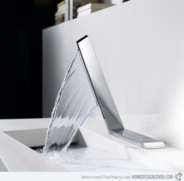 15 Fantastic Modern Faucet Designs Home Design Lover Modern Faucet Modern Bathroom Faucets Faucet Design