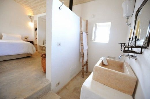 Ai Trulli interno camera bagno | trullo | Pinterest