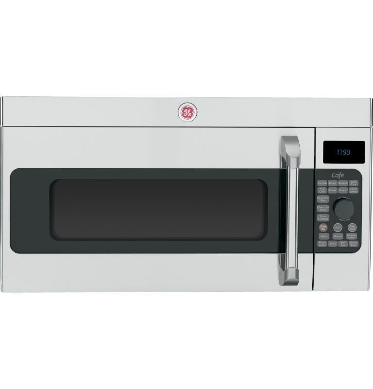 Ge Cvm1790ss 1 7 Cubic Foot Over The Range Microwave Oven With Convection Cookin Stainless Steel