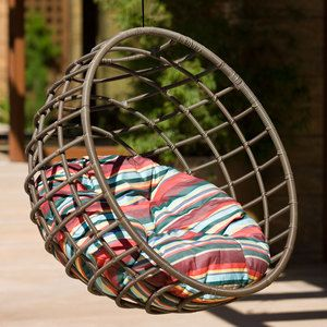 Sphere Chair Chocolate Stripe, $1,139, now featured on Fab.