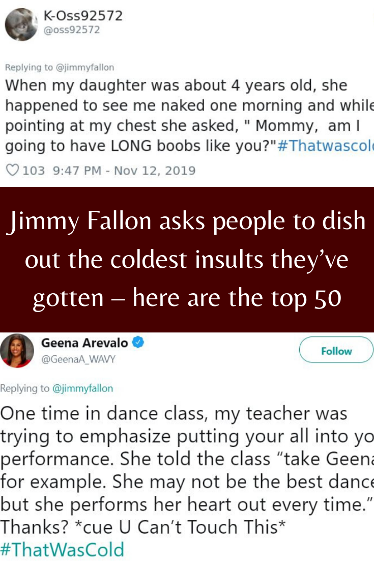 Top 50 insults