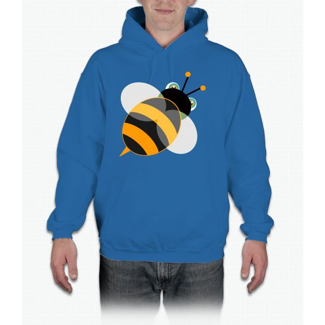 Funny Vector Graphic Bee Bee Movie Hoodie