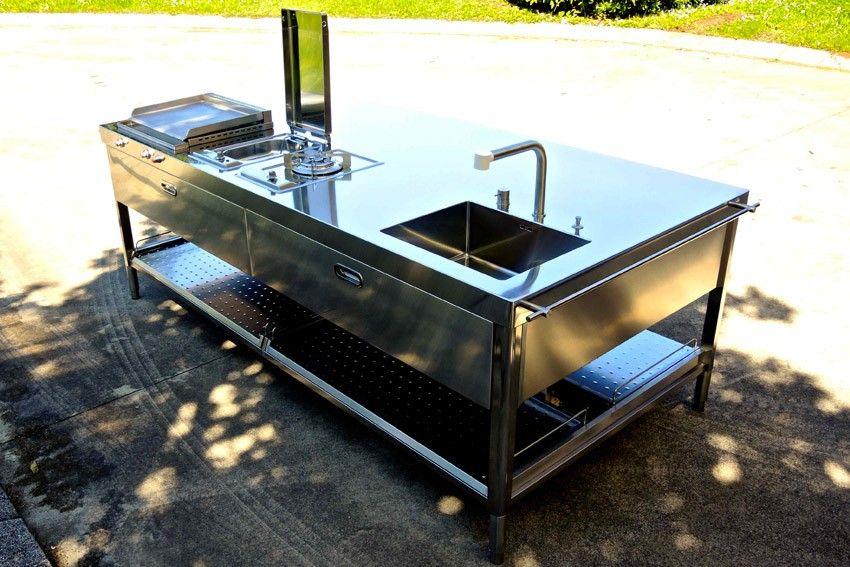 Outdoor Kitchen Unit 250 Inox Unites