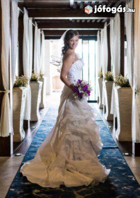 6ff1a5d215 Alfred Angelo 210 gyönyörű menyasszonyi ruha eladó | Alfred Angelo ...