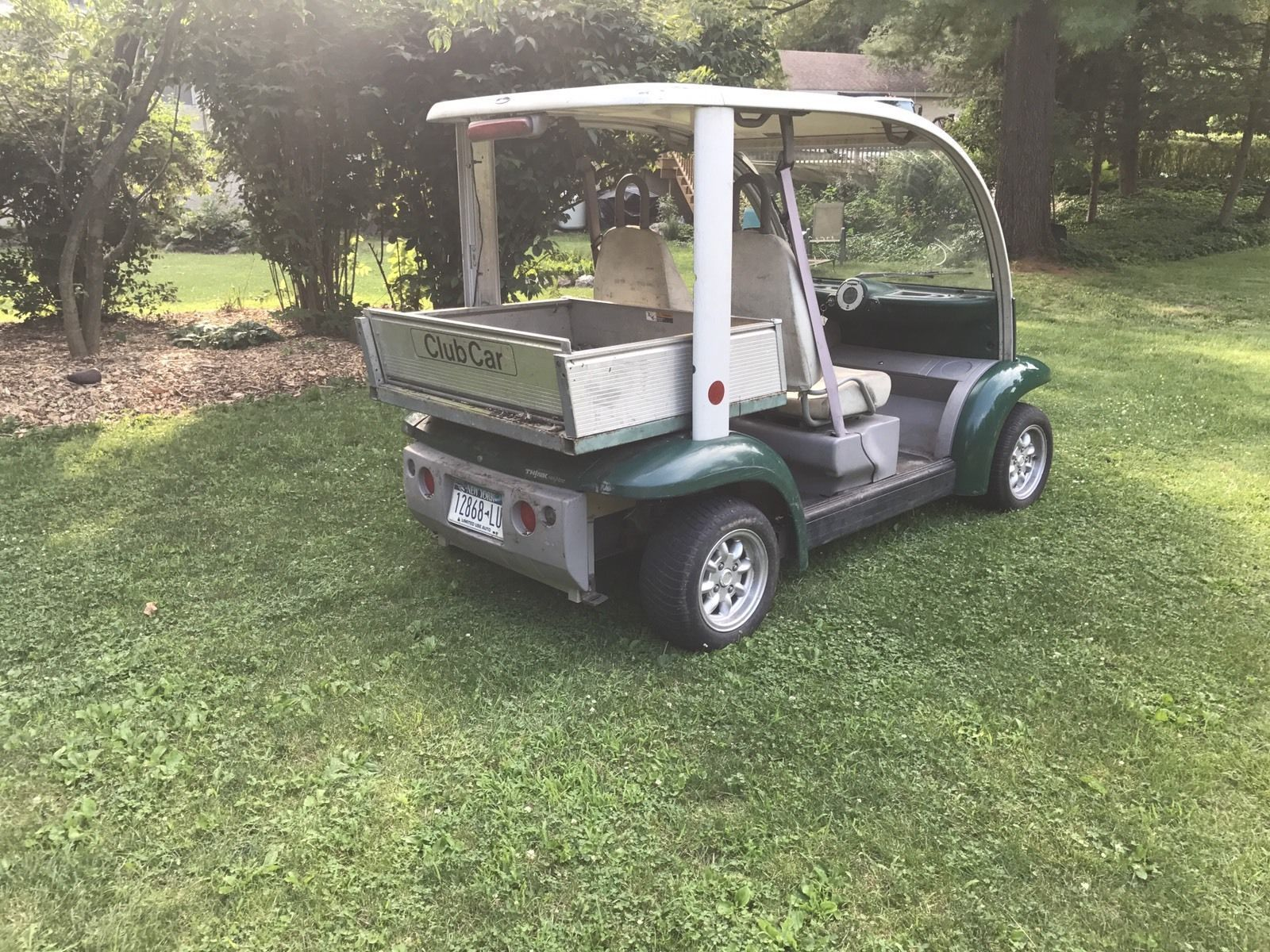 2002 ford think golf cart nev pickup truck new batteries road legal clean title