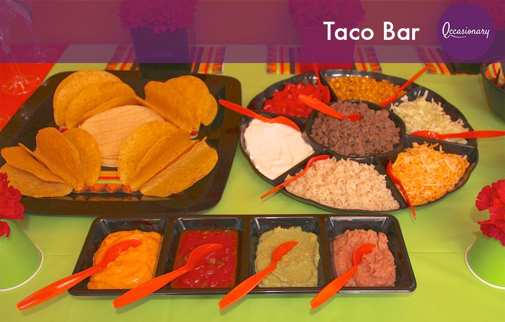 Taco bar party related keywords suggestions taco bar for Food bar party