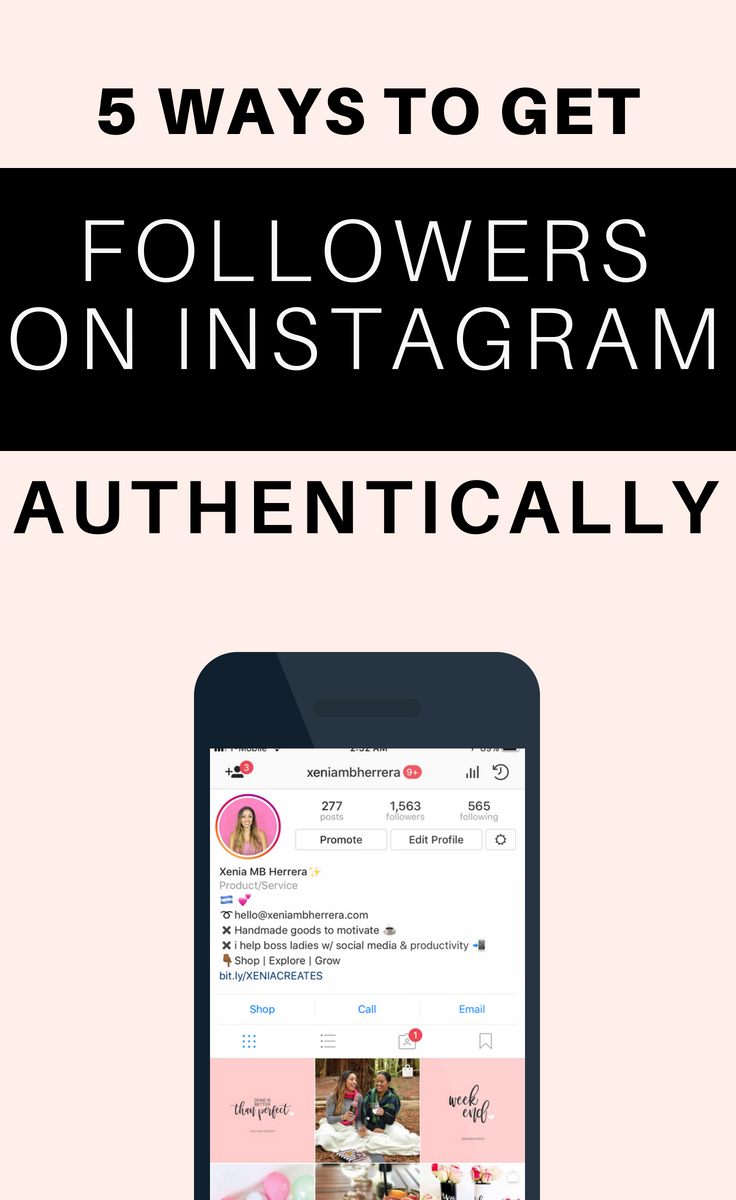 5 ways to get followers on instagram authentically share all your 5 ways to get followers on instagram authentically xenia mb herrera llc fandeluxe Choice Image