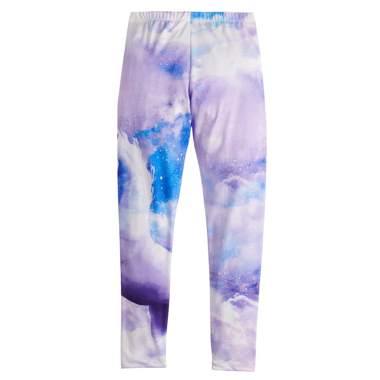 Girls 4-20 & Plus Size SO® Sublimation Leggings 2