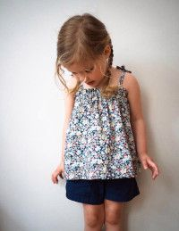 Sewing for Kids: Gathered Summer Top