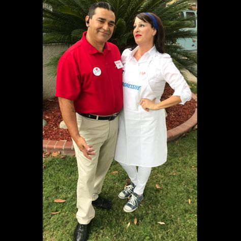 Flo from Progressive and Jake from State Farm Couples ...