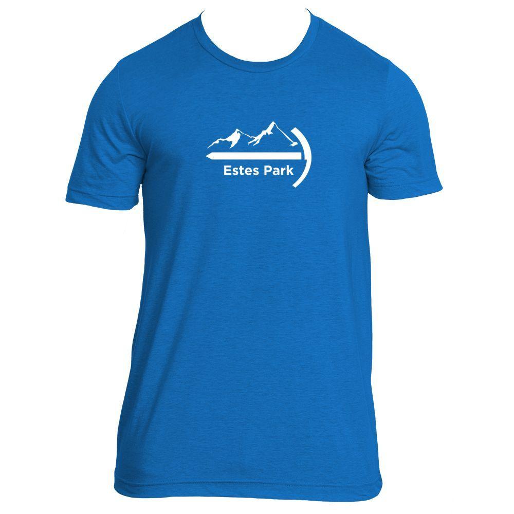 Estes Park, Colorado Mountaineer - Men's T-Shirt