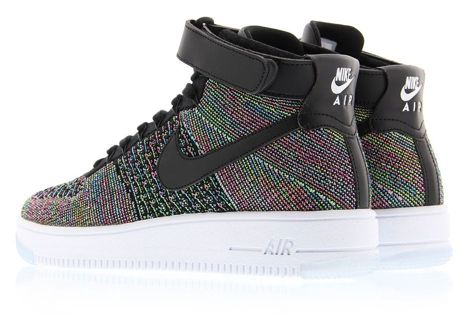 Nike Air Force 1 Mid Flyknit Multi Color 2.0 817420-601 | SneakerNews.com