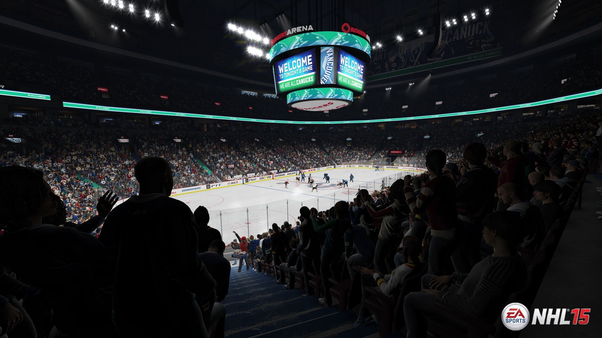 NHL 15 - Rogers Arena  Home Ice: Vancouver Canucks Location: Vancouver, British Columbia Opened: September 21, 1995.