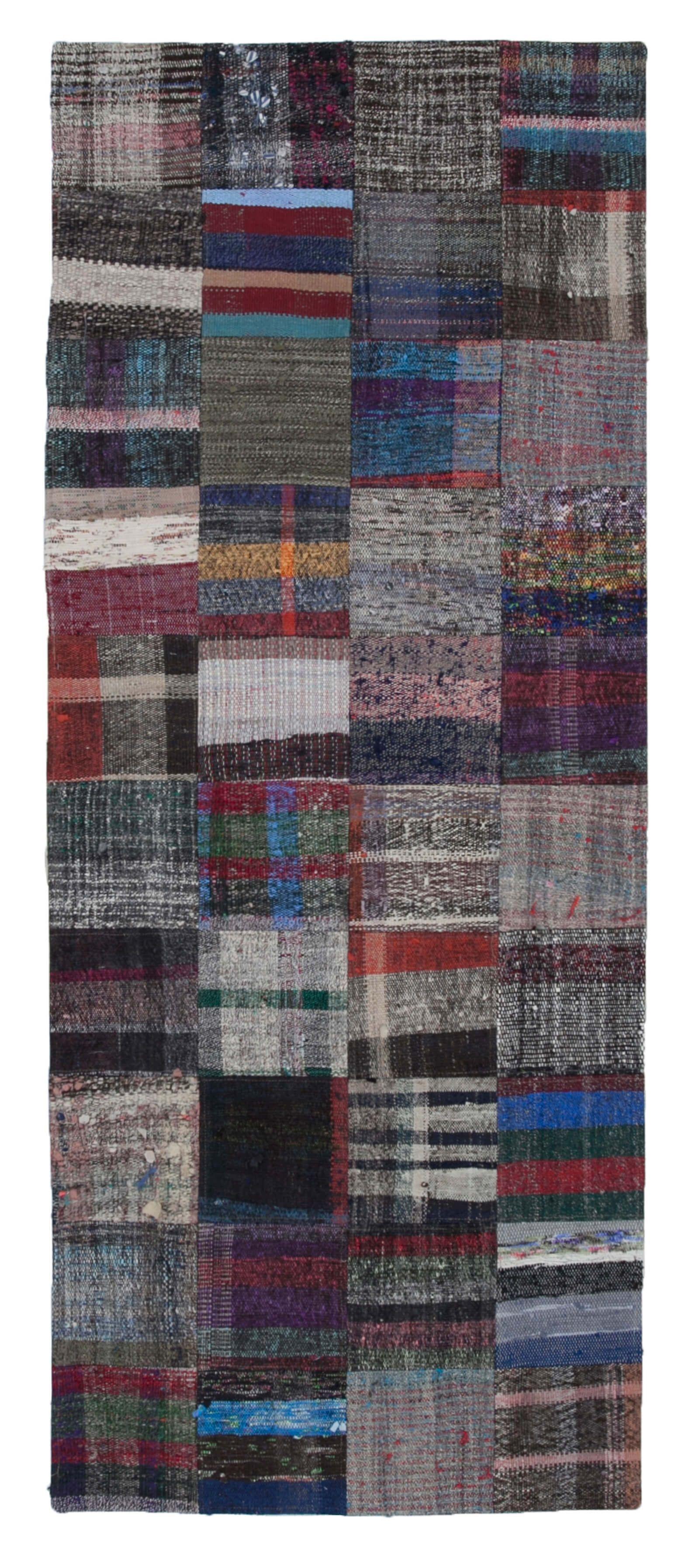 3x8 Multicolor Kilim Patchwork Rug 8157 Patchwork Rugs Handmade Kilim Vintage Area Rugs