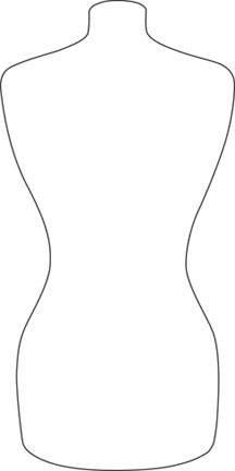 barbie body outline - photo #26