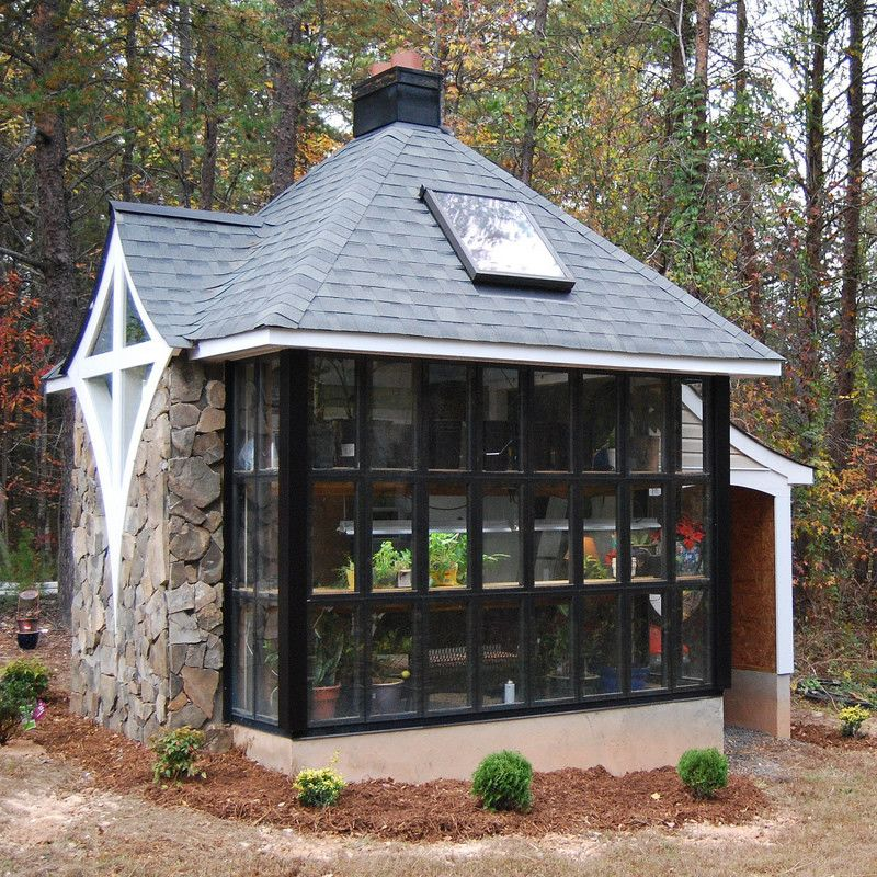 Small cottages cabins houses tiny house pinterest for Cottage modulare suocera
