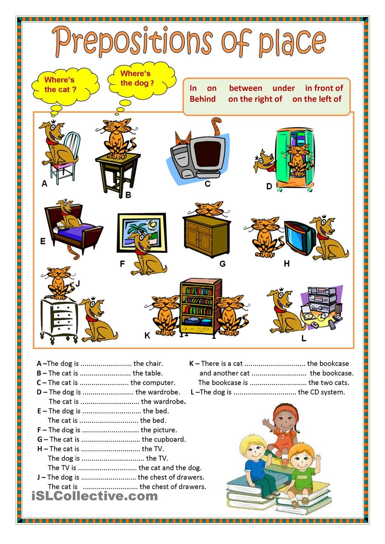 Worksheets Esl Preposition Worksheets Waytoohuman Free Worksheets