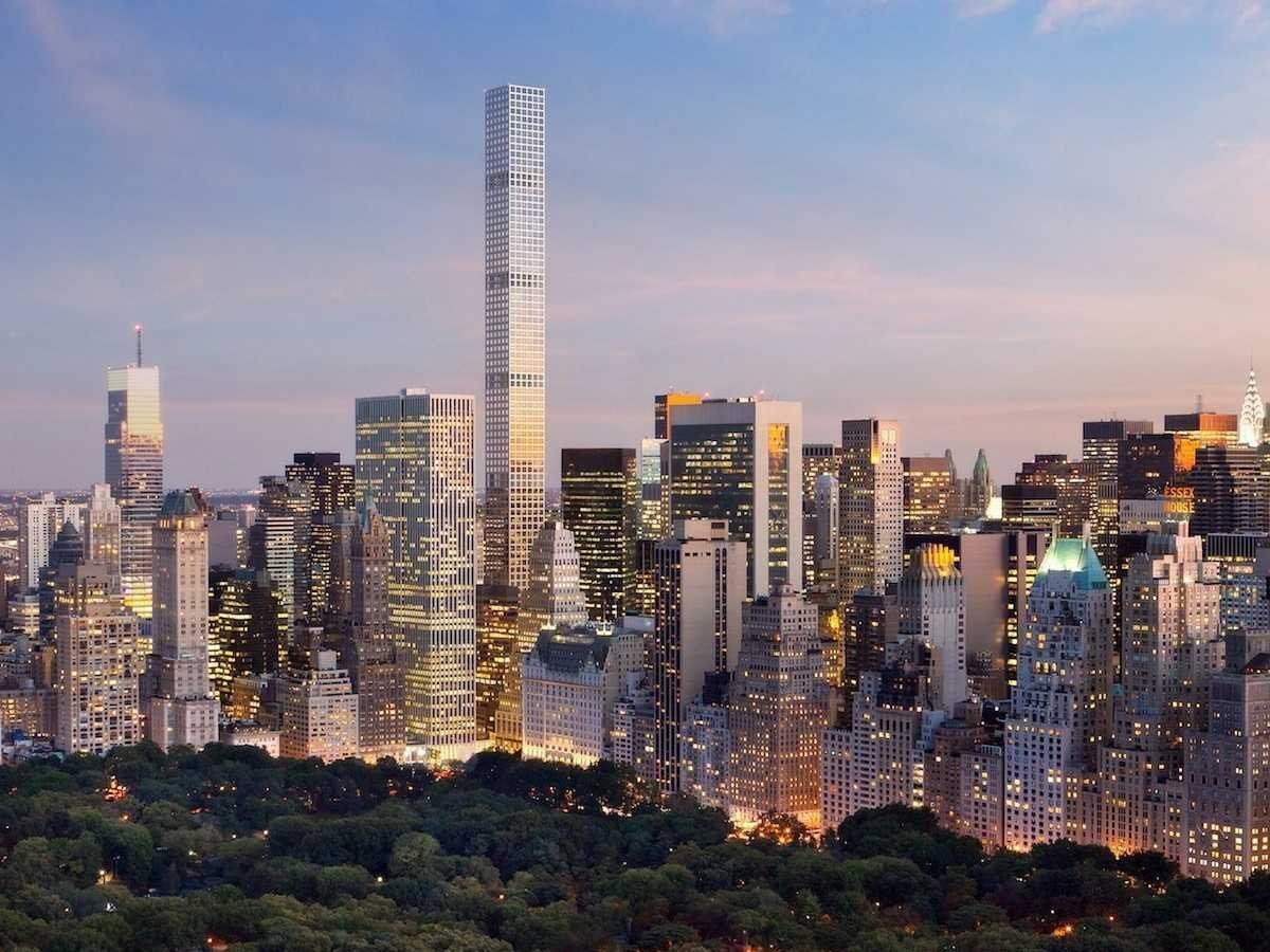 New York's Future Tallest Apartment Building Looks ...