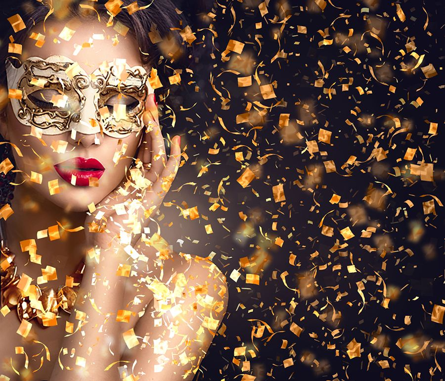 Gif Animated Confetti Glitter Effect Photoshop Action #Confetti