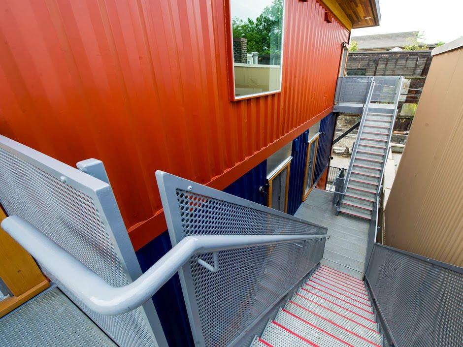 Container SA: Apartamento Container: Casa Social - Canadá