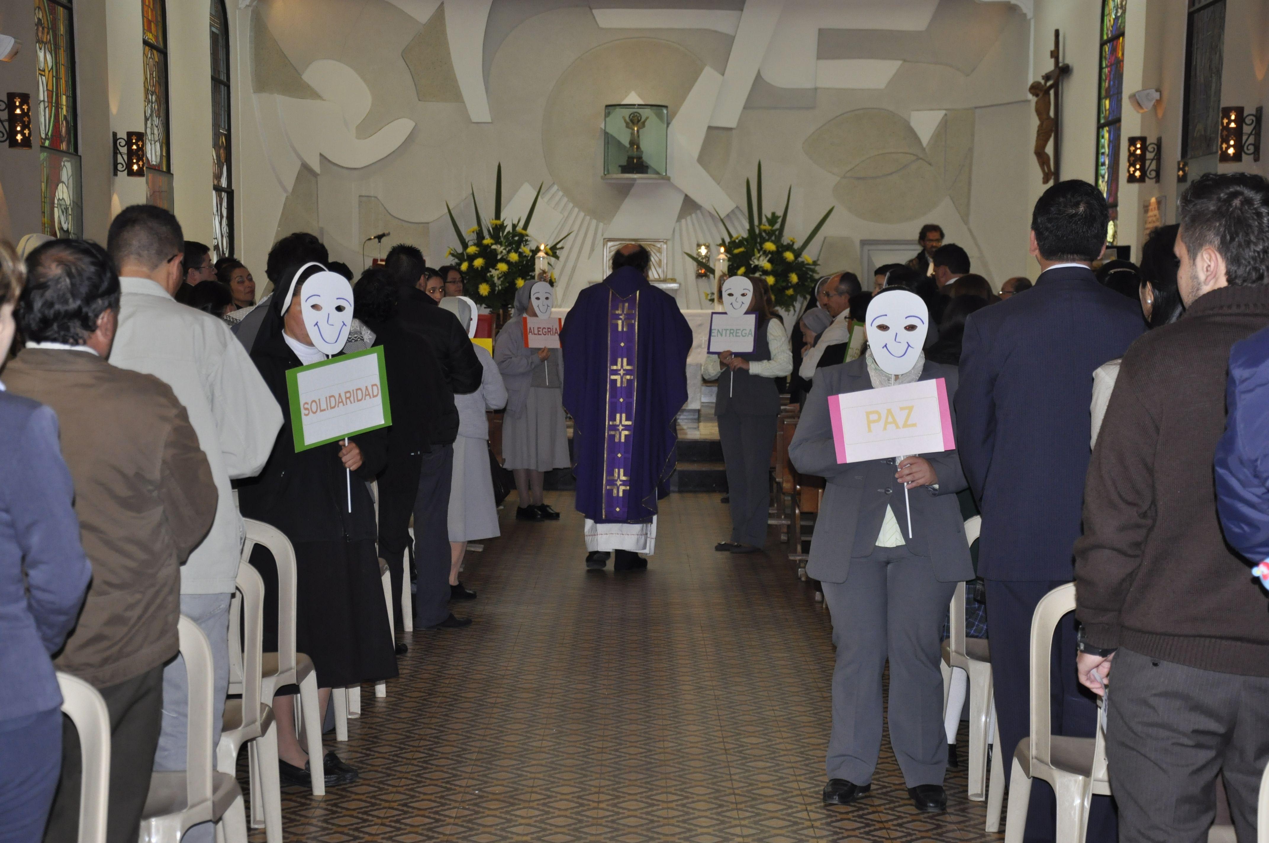 la Capilla interna del Santuario (Capilla Maria Auxiliadora)