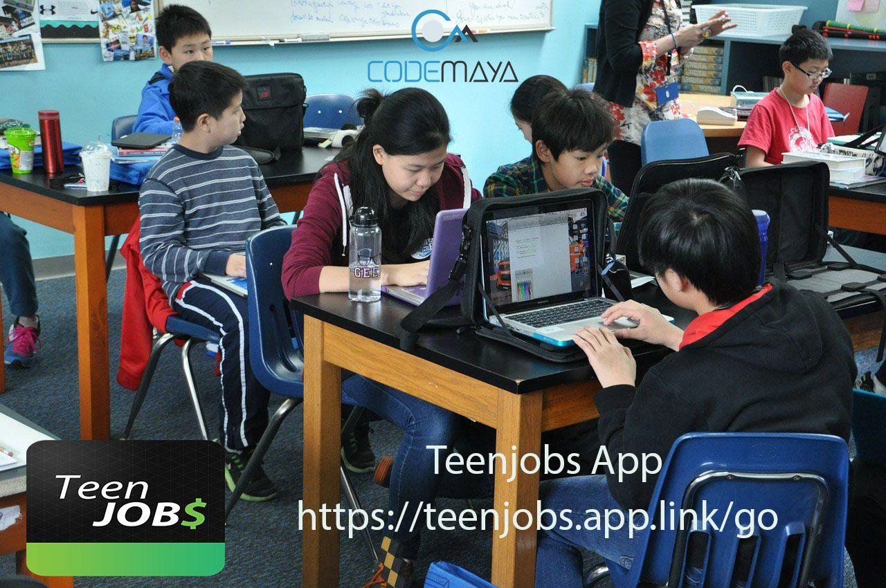 Jobs available on teenjobs app, volunteer positions in