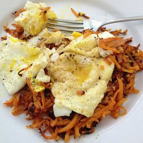 Beyond Toast: Whole30: Spicy Sweet Potato Hash Browns