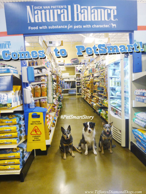 Secret Shopping Mission Revealed Natural Balance Comes To Petsmart Shelves Petsmartstory Sponsored Petsmart Mission Dog Blog