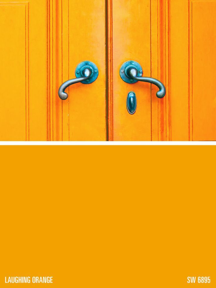 Sherwin Williams Paint Color Laughing Orange Sw Makes Me Think Of The Annoying
