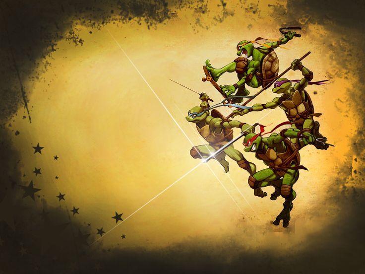 Tmnt on pinterest download wallpaper pinterest teenage wallpaper teenage mutant ninja turtles for tablet by voltagebd Images