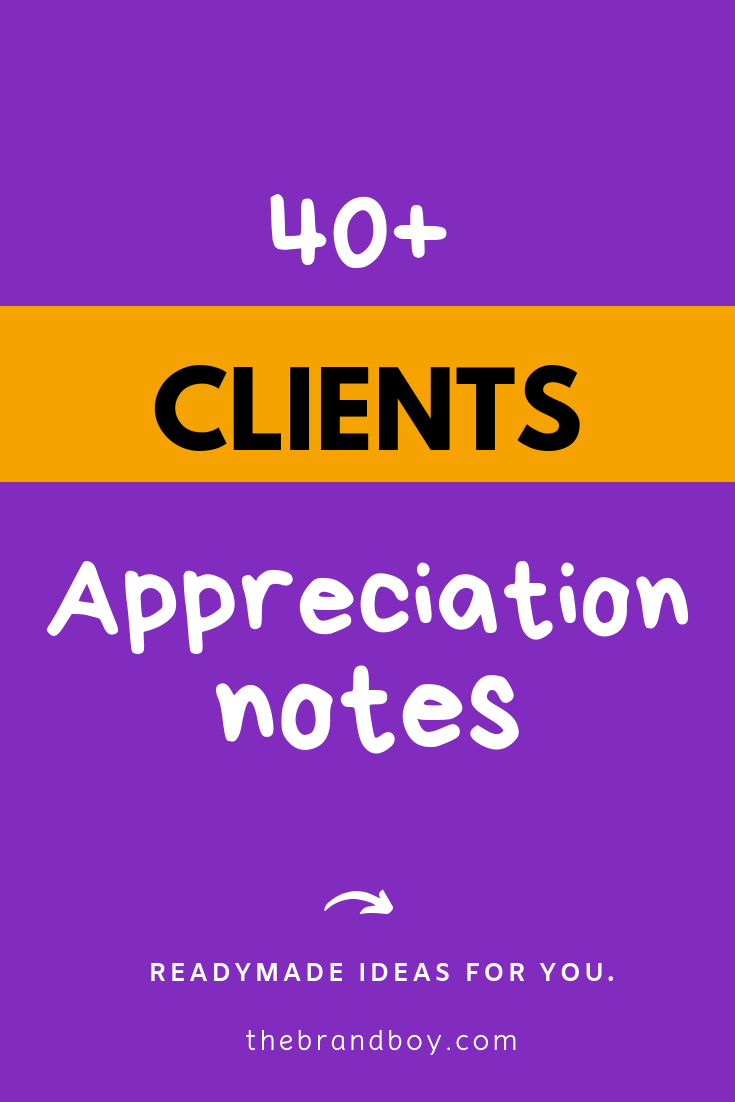 40 Best Customer Appreciation Notes For Business Client Appreciation Note Customer Appreciation Appreciation Message
