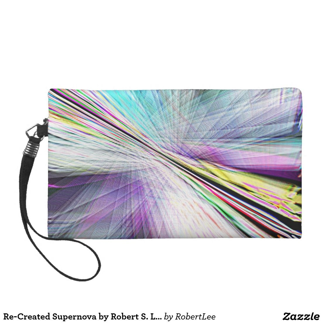 Re-Created Supernova by Robert S. Lee Wristlets #Robert #S. #Lee #art #graphic #design #colors #bag #wristlet #purse #ladies #girls #women #love #style #fashion #accessory #for #her #gift #want #need #love #customizable