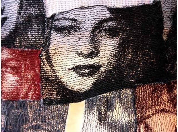 detail from, Totem for St. Clare