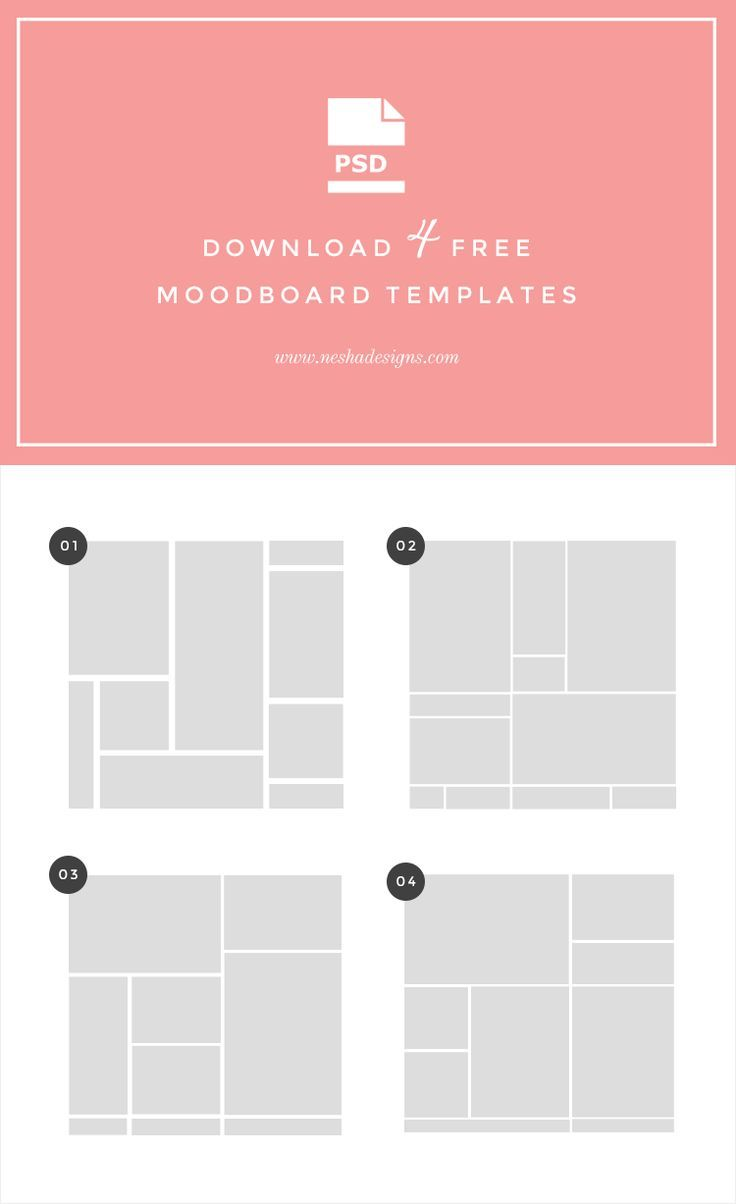 Free Moodboard Templates + Tutorial