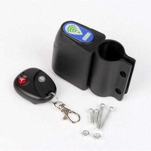 Hot Lock Bicycle Bike Security Wireless Remote Control Vibration