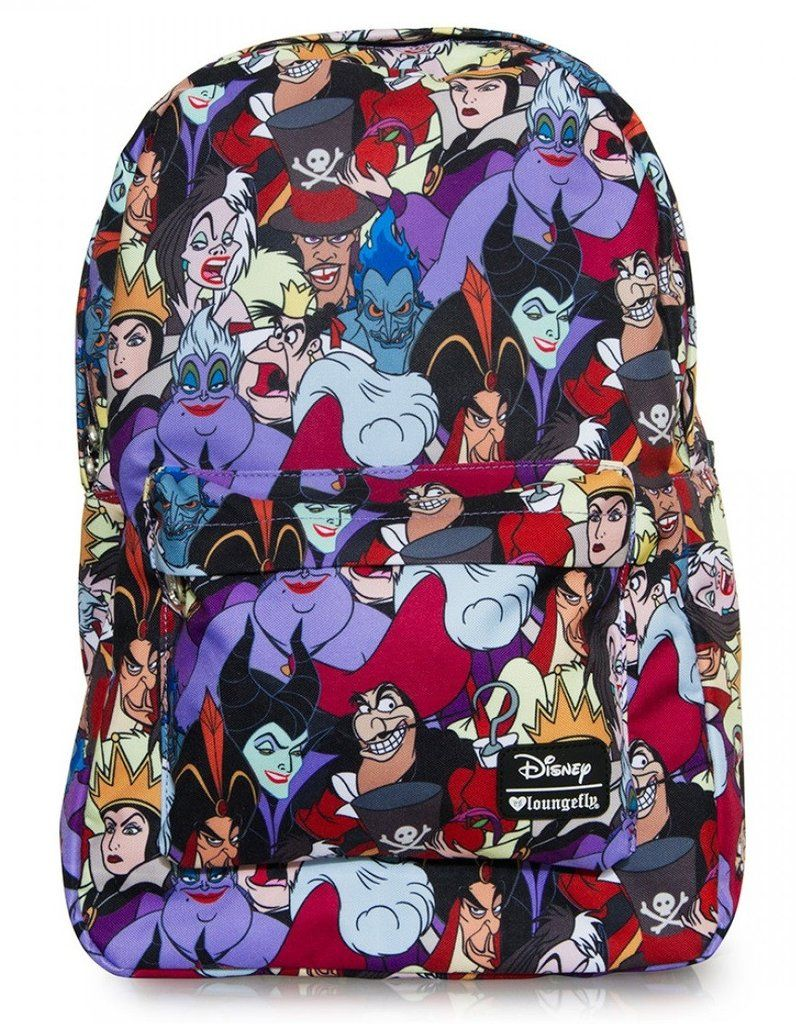 Loungefly Disney Female Villains Evil Queen Characters School Backpack –  moodswingsonthenet b7605f476a9
