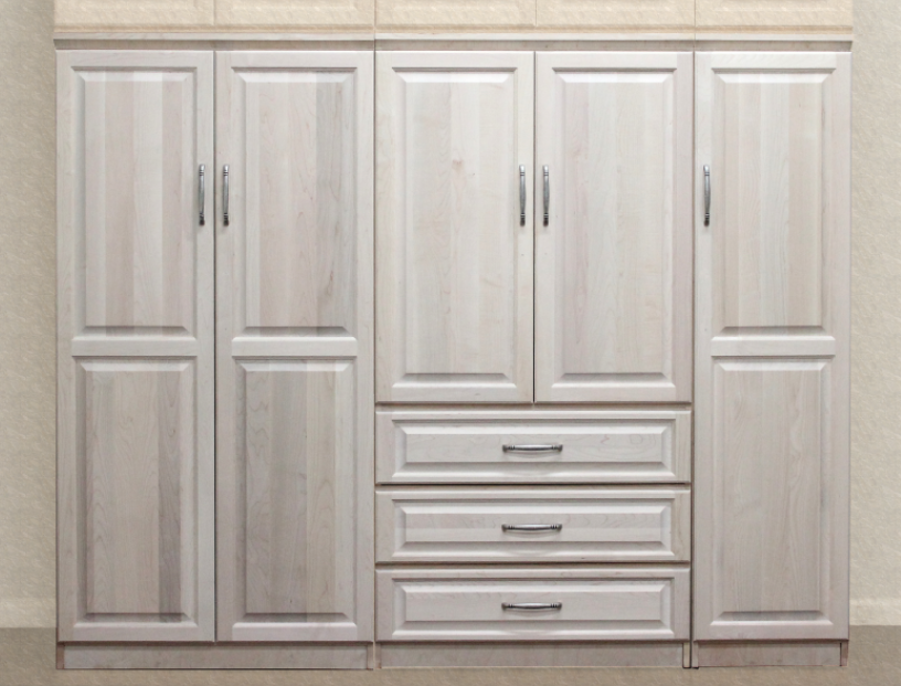 Raised Panel Wall Closet System 3 Piece Set Wall Closet System Wall Closet Raised Panel Walls
