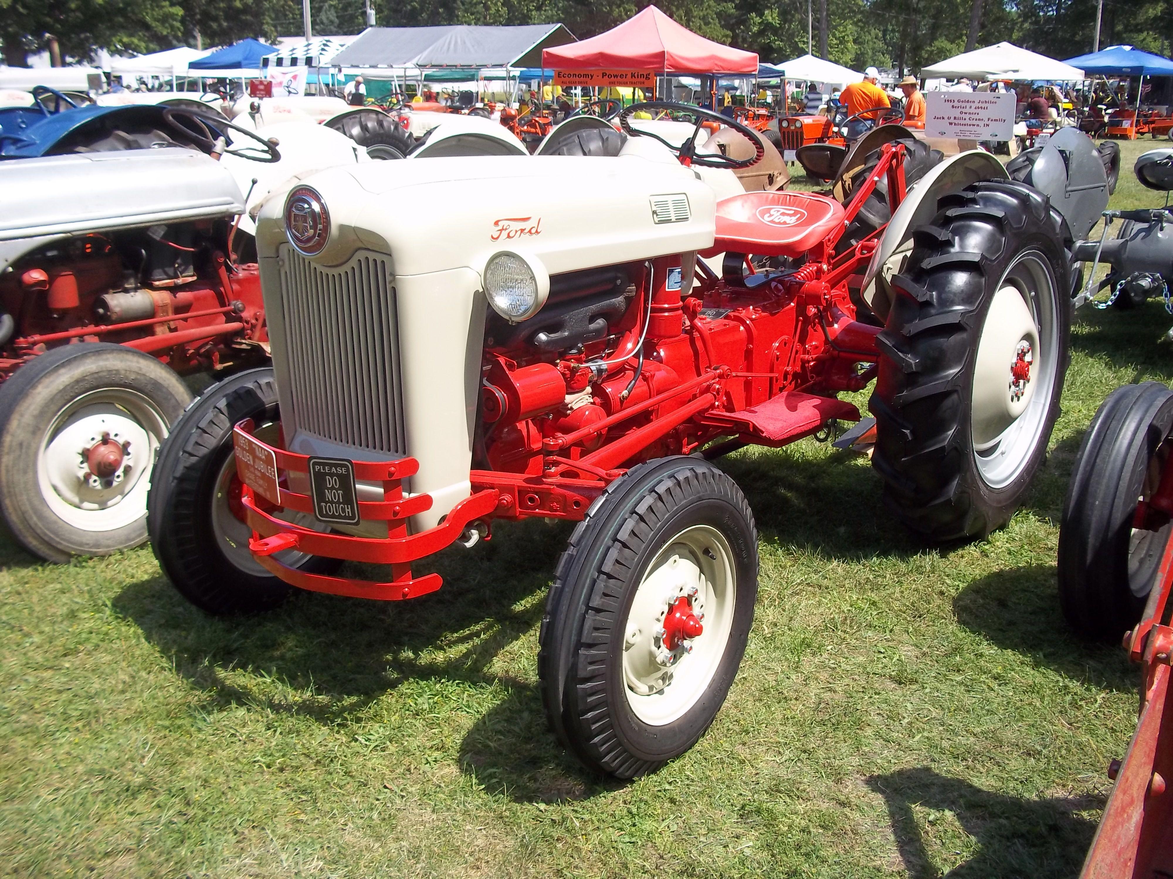 1953 Model Naa Golden Jubilee Ford Tractors Farm Tractor Tractors
