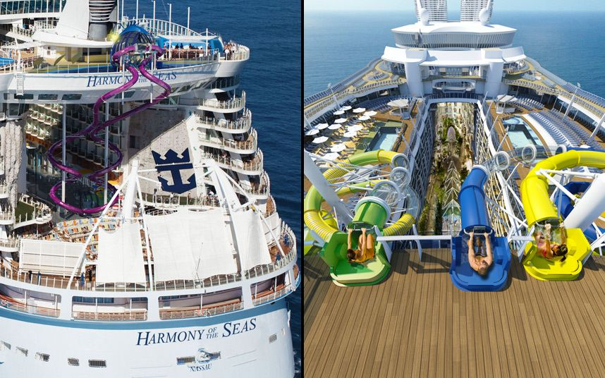 Pictures Of The Day December Cruise Ships Cruises And - Cruise ship slide