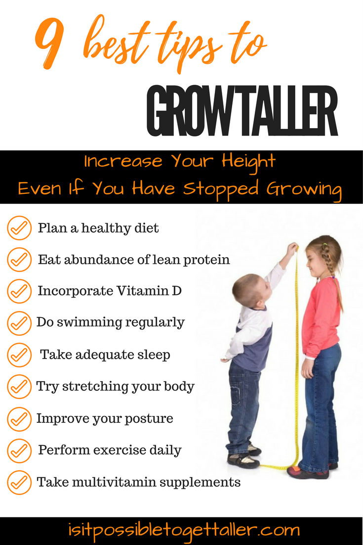Find Out 9 Tips To Get Taller Naturally Subscribe To Get Taller Fast Course Now Get Taller Instantly G How To Grow Taller How To Get Tall How To Be Taller