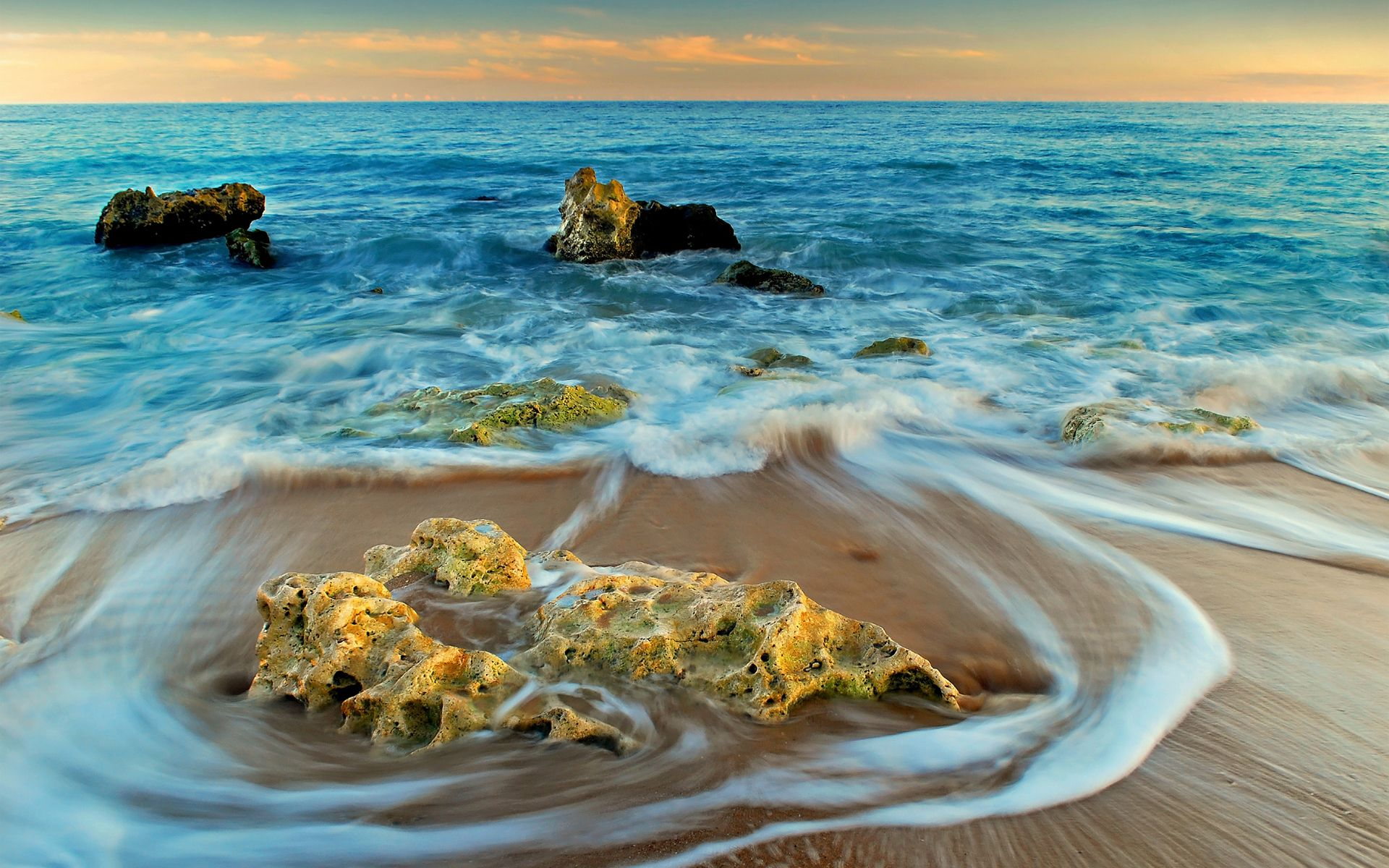 Hd Ocean Waves Wallpaper Download Free 63084 Ocean Waves Landscape Wallpaper Waves Wallpaper