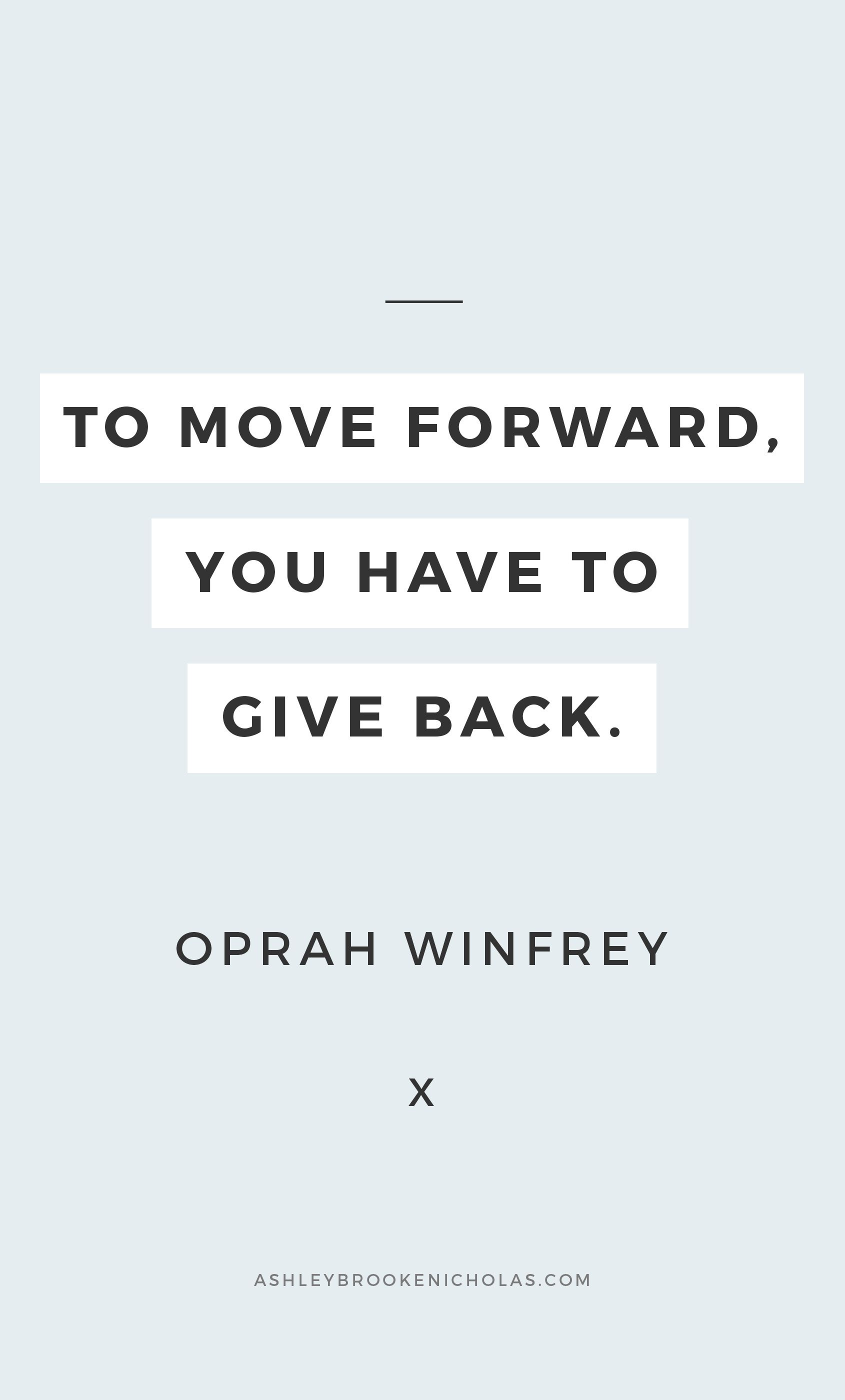 Easy ways to give back to your community + inspirational ...