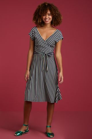 Mira-Dress-Rimini-Stripe | Kleider, Schicke kleider, Kleid ...