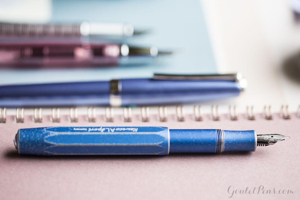 Kaweco Al Sport Stonewashed color azul Pluma estilogr/áfica