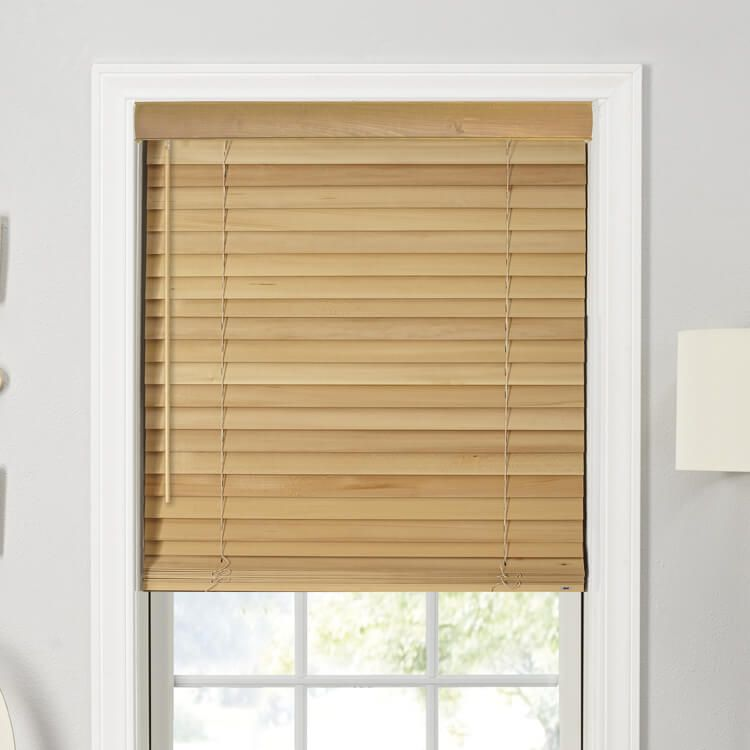 """Customize and buy Bali 2"""" Northern Heights Wood Blinds ..."""