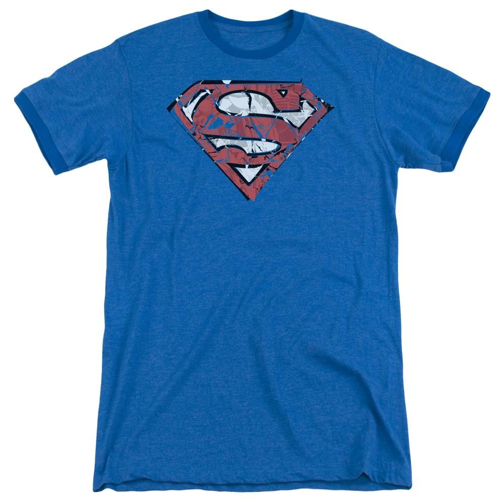 Superman KNEEL BEFORE ZOD Licensed Adult Heather T-Shirt All Sizes