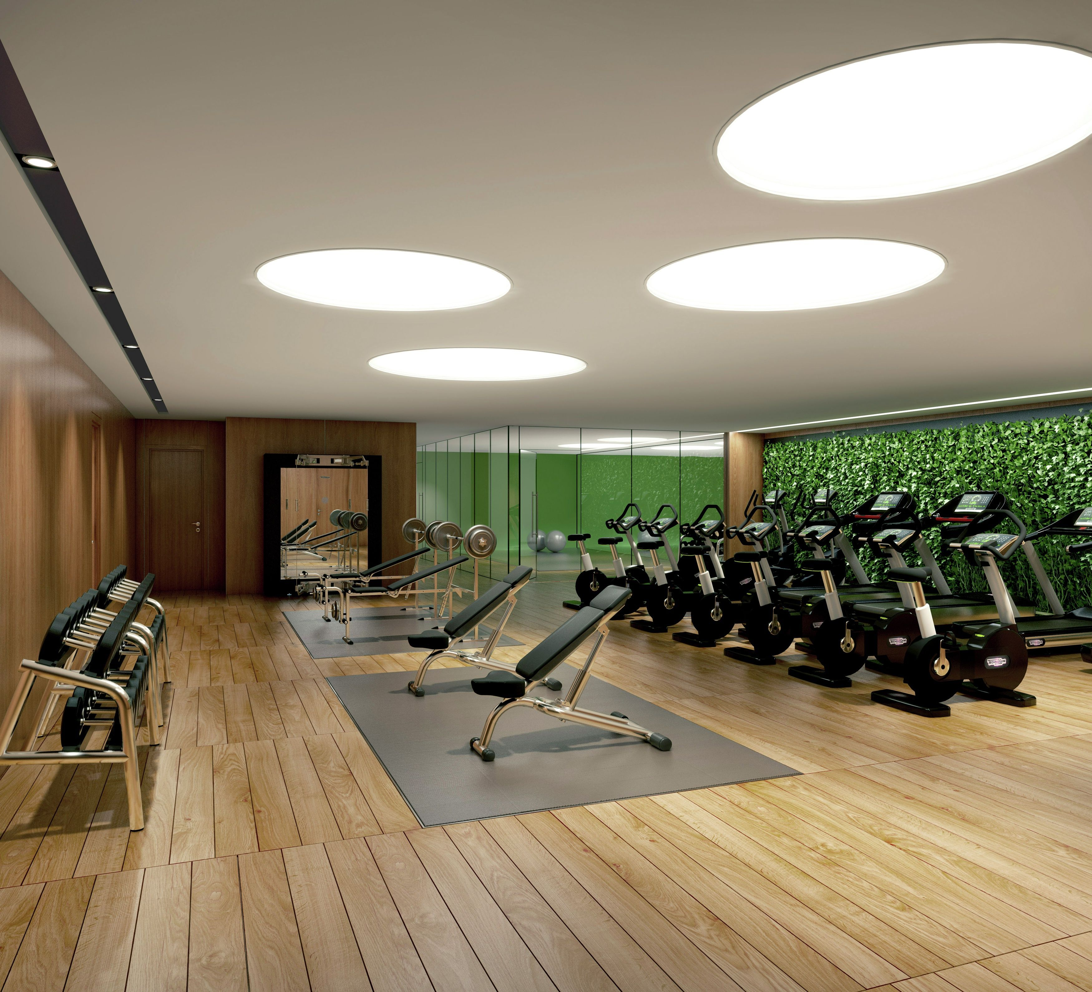Wild Home Gym Design Inspirations: 2016 Interior Design Highlights Get Your  Dream Home Gym Design